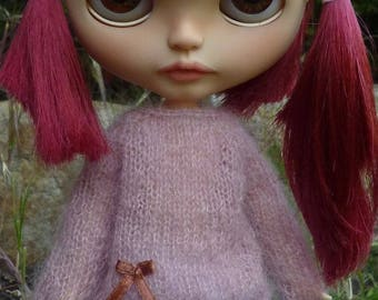 Soft sweater for Blythe doll/licca