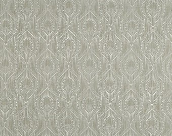 SALE Gray and White Geometric Curtains, Alyssa Regal Slub Canvas Rod Pocket 63 72 84 90 96 108 or 120 Long by 24 or 50 Wide