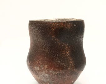 Freckled Woodfired Cup