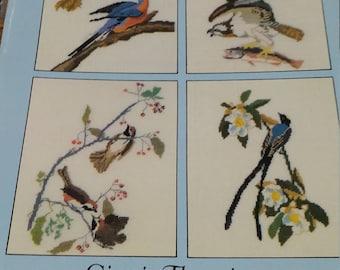 Audubon Birds in Cross Stitch Dover Needlework Series
