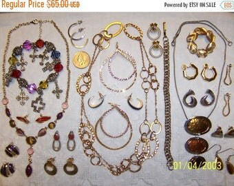 TWICE A YEAR, 25% Off Vintage Jewelry (Lot 99). Big, Med. and Small.