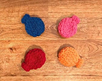 Crochet Water Balloons, Reusable Water Balloons, 4th of July, Pool Party Fun, Birthday Party Favors, Summer Party, Water Toys, Beach Toys