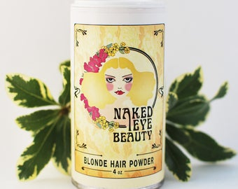 Organic Blonde Natural Hair Powder