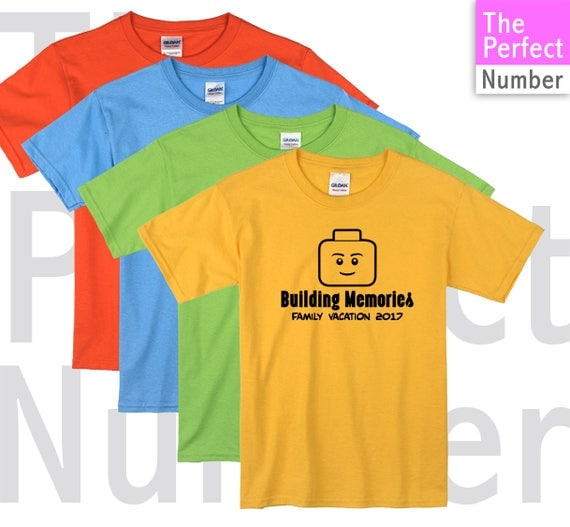 Legoland family vacation macthing t shirt 2018 for Best selling t shirts on etsy
