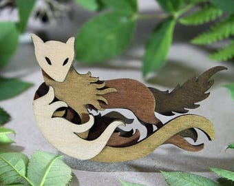 SALE Fox Brooch - Woodland Collection