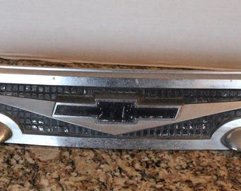 1960's Chevy Chrome Car Grill for Art