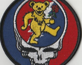 Vintage Grateful Dead Sticker Nothing Left To Do But Smile