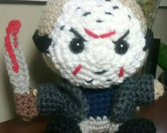 Jason Voorhees Friday the 13th Inspired Amigurmi Doll Pattern ONLY