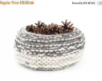 ON SALE WOOLY nest bowls - attractive + practical, polychromatic bowls - greys*