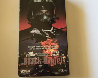 Flight Of Black Angel With Peter Strauss (VHS)