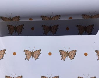 Butterfly, wrapping paper, gift wrap, for butterfly lovers, for butterfly collectors,butterflies,read description