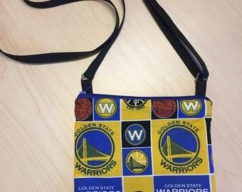 Golden State Warriors Crossbody Bag - Basketball, NBA, Crossbody Bag, Warriors Crossbody Purse, Golden State Warriors Fan Gear, DUBS!