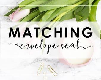 Matching Envelope Seal