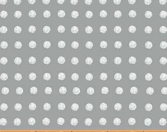 Lemmikki by Lotta Jansdotter for Windham Fabrics - 43093-6 - Pewter - 1/2 Yard Cotton Quilt Fabric