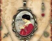 Fortune Teller Charm Necklace - Za Dee Da - The Mystic Seeker Colleciton - The Gypsy Psychic