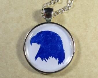 Eagle Pendant, Eagle Necklace, Eagle Jewelry, Eagle Head Pendant, Eagle Gifts, Pendant with Eagle, Jewelry with Eagle, American Eagle
