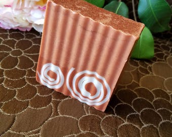 Red Brazilian Clay Soap with Goats milk & Shea