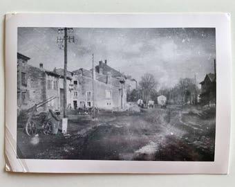 Original Vintage Photograph | Ghost Town