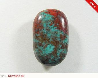 Sonora Sunrise Cabochon, 17x27x6.2 mm, designer cabochon, gemstone cabochons, flat back cabochons, natural stone cabochons (ss31472)
