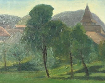 Country side french painting