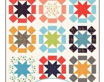 INSTOCK Star Burst #150  Pattern by Sherri McConnell from  A Quilting Life