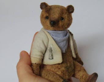 Flapjack Artist Teddy Bear