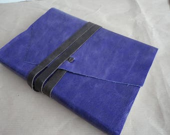 Beautiful Lavender purple leather journal