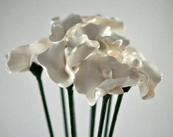 Minimalist Flowers, flowers, flowers, White, High Gloss,