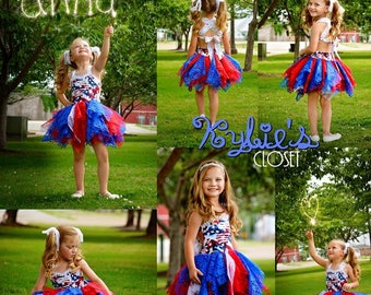 Patriotic 4th of July Special Edition MiniBelle - Cosplay - Summer Dress - Dress for Girls - Fairytale - Party - Fireworks - Celebration