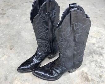 Womens size 6 M Tony Lama western  boots