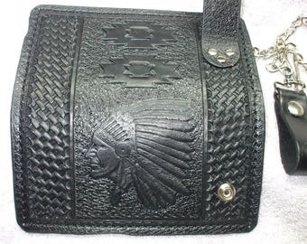 Native American heritage long wallet. Put your name here.