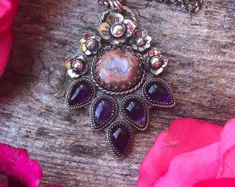 Frida Quote Necklace