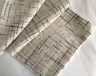 Plaiding Cowl - Handwoven - Merino, Mohair - Love Letters