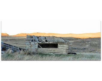 Western Wall Art 'The Roof' by Slade Reiter - American West Decor Country Rustic Photography on Metal or Plexiglass