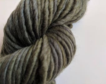 Olive on Super Bulky SW Merino