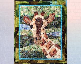 Giraffe Mini Mosaic Quilt Pattern