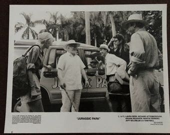 Movie photo from Jurassic Park.