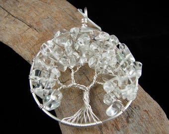 Tree of Life Pendant - Glass Tree