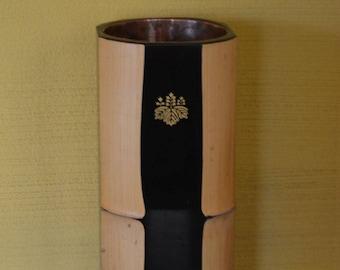 Flower vase, bamboo ikebana vase, Japanese ikebana hana-ire
