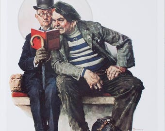 Norman Rockwell-The Interloper-1993 Poster