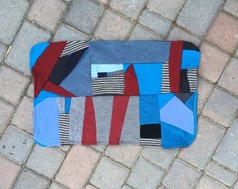 Wool Change Pad, Baby Blanket, Puddle Pad, Mattress Cover - Patchwork Two Layers Thick