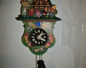 Snow White Novelty Clock,Cuckoo clock Shop item