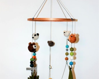 Bears and their habitat mobile