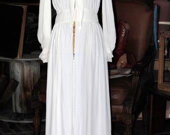 Antique Handmade Silk Dress