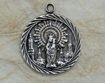 Bronze Our Lady of the Pillar Medal VP1371