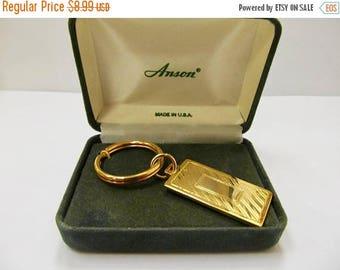 On Sale ANSON Retro Ëngraveble Key Chain Item K # 2806