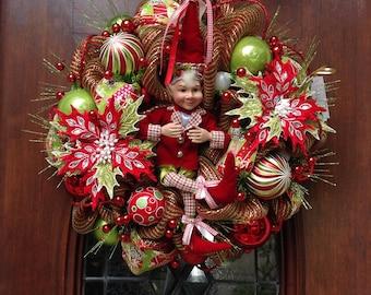 Oh So Whimsical Elf Wreath