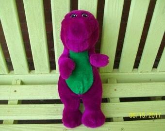 1992 Plush Stuffed Barney