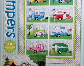 Campers pattern by Amy Bradley Designs