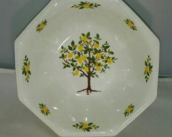 Johnson Brothers Lemon Tree Serving Bowl